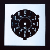 1968-70 AMC AMX / Javelin Clock Decal