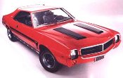 "1969 1/2 AMC ""Mod"" Javelin Stripe Kit"