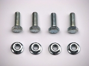 1970-74 AMC AMX / Javelin Trans. Mount To Crossmember Bolts/Nuts