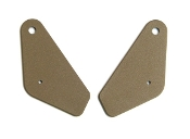 1968 AMC AMX / Javelin Tan Inner Seat Hinge Covers