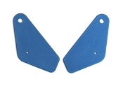 1969 AMC Javelin Blue Inner Seat Hinge Covers